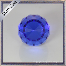 Glamour Sapphire Blue Crystal Beads for Jewelry