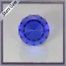 Гламур Сапфир синий Кристалл бусины для ювелирные изделия
