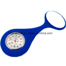 Impermeable silicona enfermera relojes Fob Japón Movt