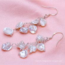 8-9mm Keshi Pearl Earrings