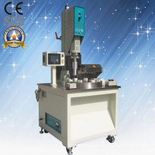 Máquina de soldadura ultrasónica rotativa de plástico