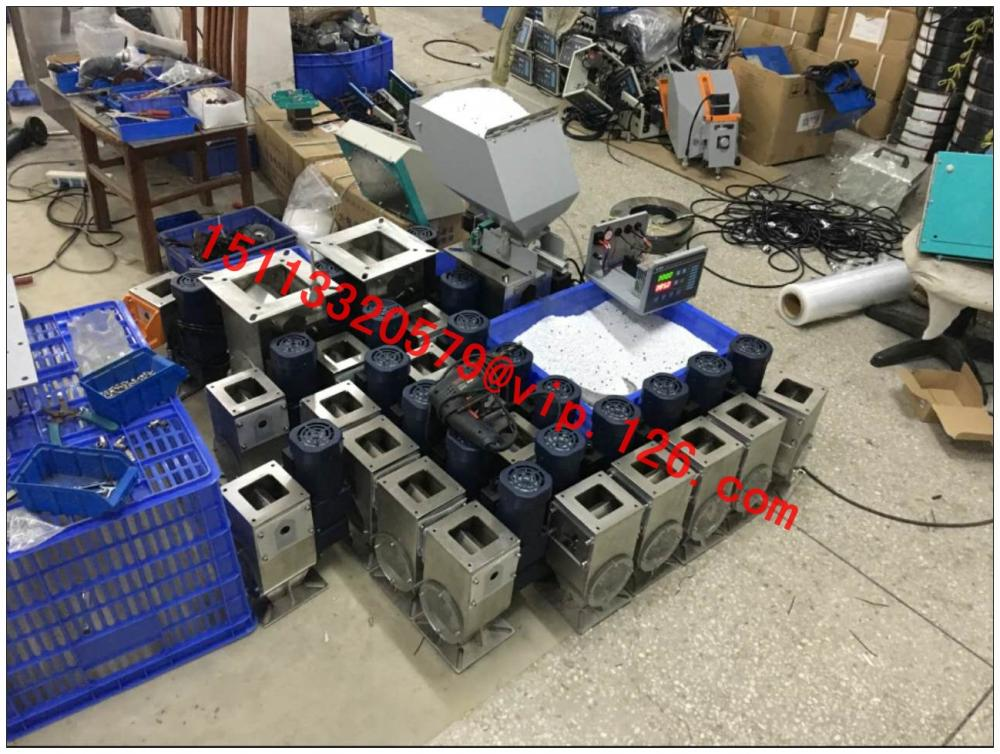 Powder Volumetric Doser for Plastic Injection