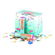 Party Popper Avec Feuille Cercle 20cm