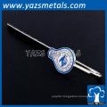 custom promotion Metal Bookmark for book