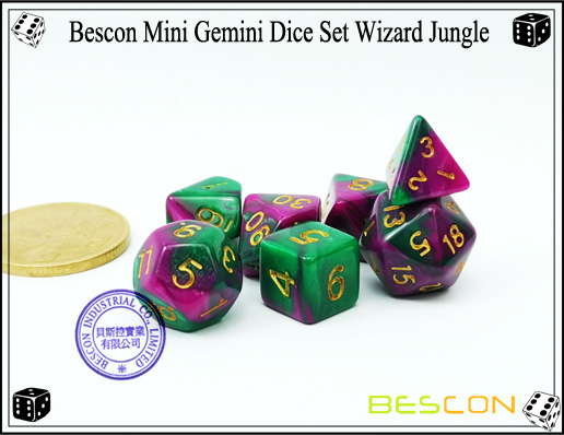 Mini Dice wizard jungle-1