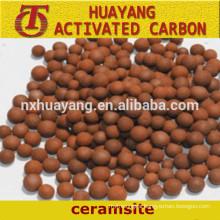 Ceramic sand filter media,ceramsite for sale,manufacturer supply