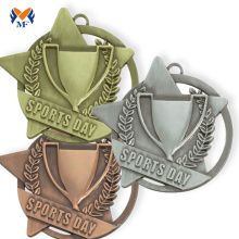 Metal medal maker of campaign winner medal