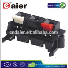 Daier WP3-1 3P rojo y negro y blanco Clip Terminal de primavera Altavoz Push Terminal