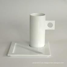 Juego de taza de café de porcelana, estilo # 669