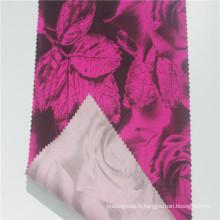 Tissu en coton biologique avec des matériaux interlock