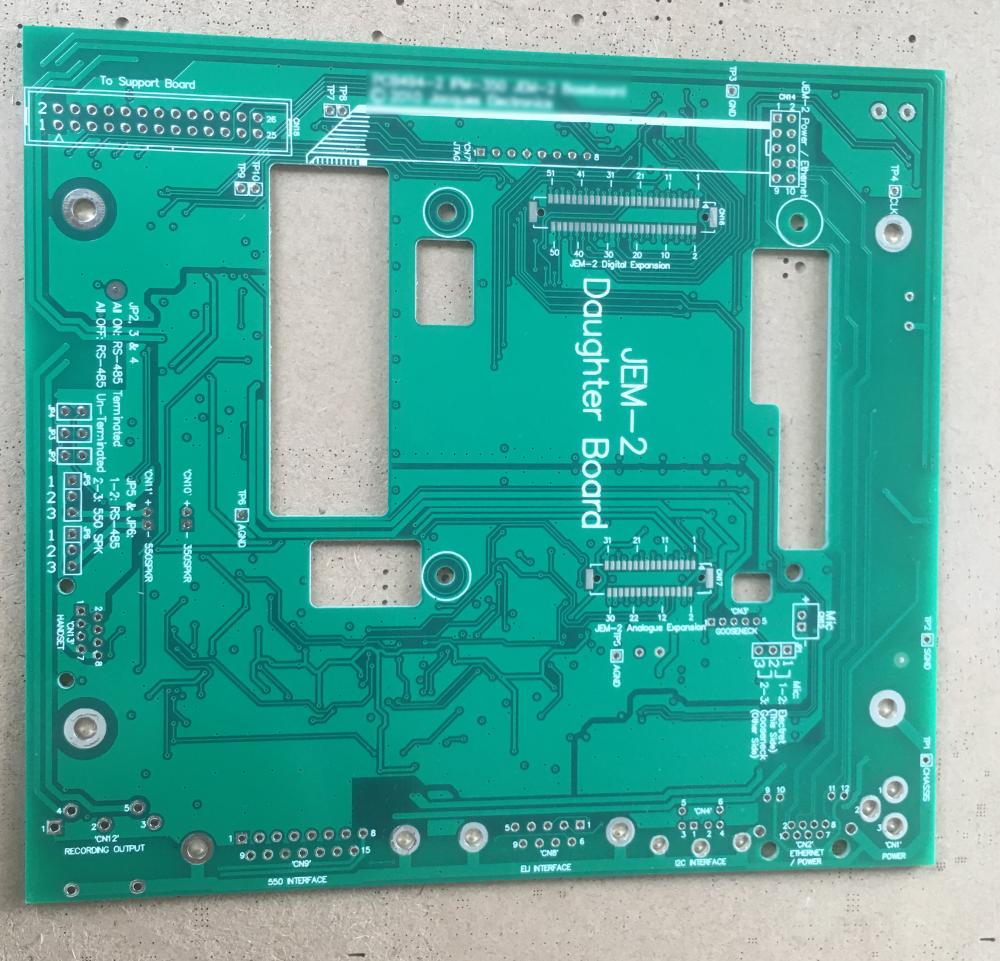 6 layer audio controller PCB