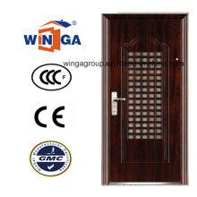 Buena puerta de acero inoxidable de la seguridad de Doorleaf de la alta calidad del precio (WS-129)