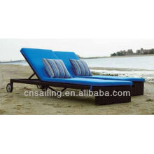 Hot sale Outdoor All Weather beach sun lounger