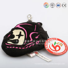 Plush seashell animal wallet,plush gold coin purse& bag