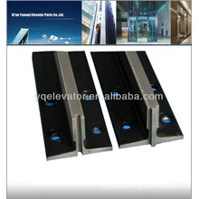 T type elevator guide rail, elevator guide rail clip, cold drawn elevator guide rail
