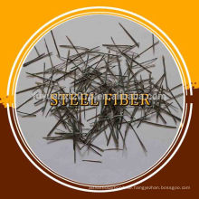 Geklebte endgehakte Stahlfaser