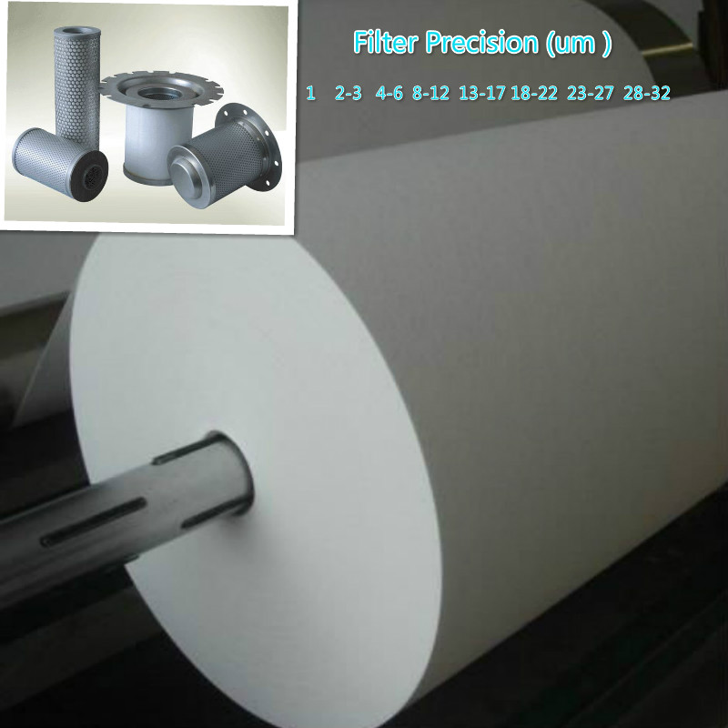 Glass Microfiber Liquid Filter Meida