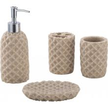 water chestnut Bathroom Accessory Set 4-piece