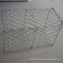 Fabrication hexagonale lourde de fil pour le panier de Gabion