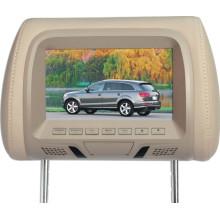 Monitor de encosto de cabeça do carro 7 polegadas USB SD opcional