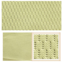 Warp Knitting Trikot 100% Polyester Mesh-Gewebe für Bekleidung