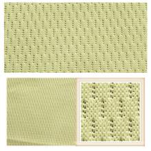 Tissu de maille de tricotage de Tricot de tricotage de la chaîne 100% pour l'habillement