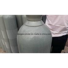 99,9% Co Gás Enchido em 40L Cilindro De Gás Vol 20 kg / Cilindro com Qf-2 Válvula