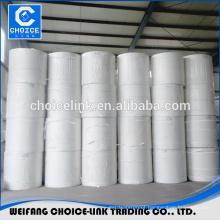 Spunbond polyester roofing mat for bitumen membranes