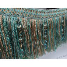 new hot-selling large national style tassel for hometextile