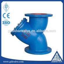 cast iron water y strainer