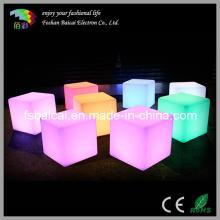 Cadeira de iluminação LED Cube