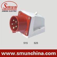 Enchufe para montaje en pared 5pin 16 / 32A 400V Implement Plug