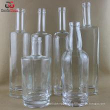Extra flint garrafas de vidro para Premium Liquor (vários Label Decoração Doable)