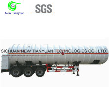 T19 Série 40ft ISO Tank Container Semi-remorque