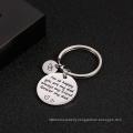 Custom Stainless Steel Logo Keychain Wholesale Fashion Metal Souvenir Engrave Key Chain