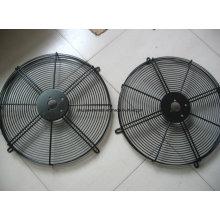 Protection industrielle de fan de fil de métal d'électrodéposition enduite par PVC d'OEM / chrome