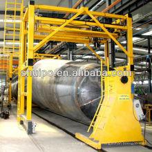 Automatic Girth welding machine for circumferential seams of irregular shaped tank/tank truck welding machine