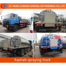 4X2 Asphalt Spraying Truck Liquid Heated Bitumen Asphalt Transport Tank Truck
