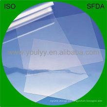 Película rígida clara del PVC para el empaquetado