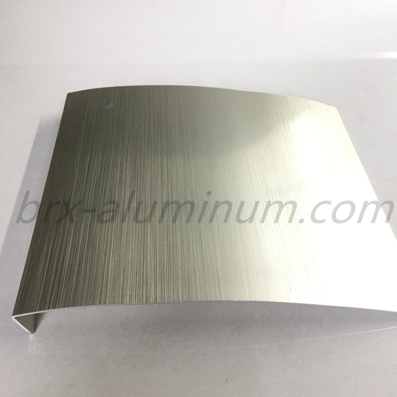 Anodized aluminum alloy sheet for decoration