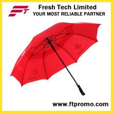 30 * 8K Auto guarda-chuva aberto Golf com seu logotipo