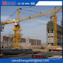 Grúa Qtz4208 de equipos de elevación fabricada en China por Hsjj