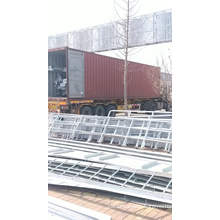 good quality galvanized 50000gallon panel 18m high steel water tank tower