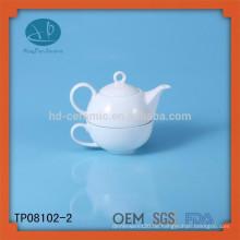 Porzellantee für einen Satz, Promotionteeset, umweltfreundlicher keramischer Teesatz für Familie, Tee für einen