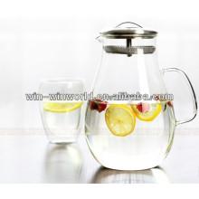 Large Capacity Homeware Stainless Steel Filter Water Bottle Tea Pot