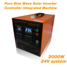 Inversor de onda de seno puro 2000W integrado con cargador