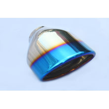 Performance Blue Plating Auspuff Tipps