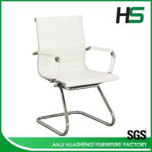 2015 Mais vendidos em aço inoxidável ou cadeira giratória de escritório PU em couro