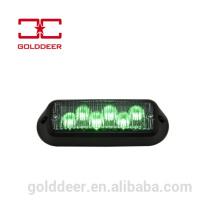 Waterproof Deck Dash Grille Safety Lamp LED Emergency Flashing Lights