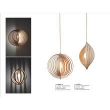 Dinner Room Wooden Hanging Lights (N-057S-L)